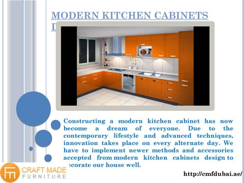 Modern Kitchen Cabinets Design By Cmf Dubai Issuu