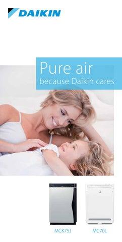 Daikin Cyprus. Ολοκληρωμένη λύση για τον καθαρισμό του αέρα