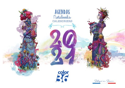 Catalogue Color Agendas et Calendriers 2021 by Offset5   issuu