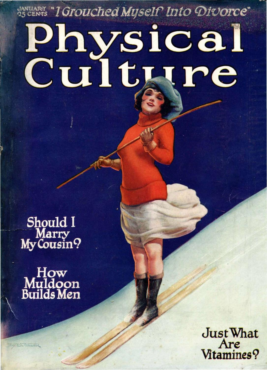 Physical Culture Jan 1922 Vintage By алиса Issuu