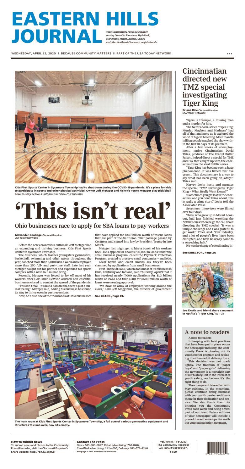 Eastern Hills Journal 04 22 20 By Enquirer Media Issuu