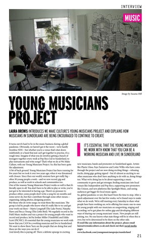 Page 21 of YOUNG MUSICIANS PROJECT