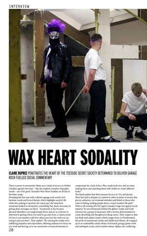 Page 28 of WAX HEART SODALITY