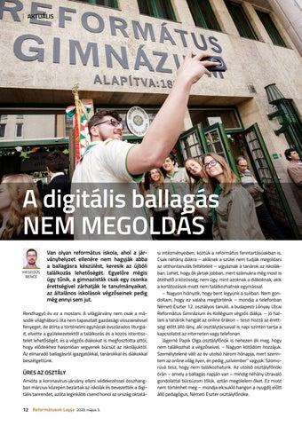 Page 12 of A digitális ballagás NEM MEGOLDÁS
