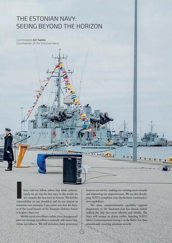 Page 21 of THE ESTONIAN NAVY: SEEING BEYOND THE HORIZON Commodore Jüri Saska