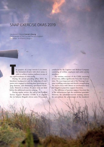 Page 25 of SNAP EXERCISE OKAS 2019 Lieutenant Colonel Indrek Lilleorg