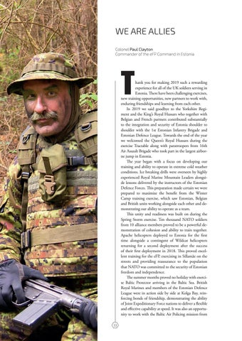 Page 33 of WE ARE ALLIES Colonel Paul Clayton