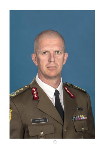 Page 4 of TO THE READER Major General Martin Herem, Commander of the Estonian Defence Forces
