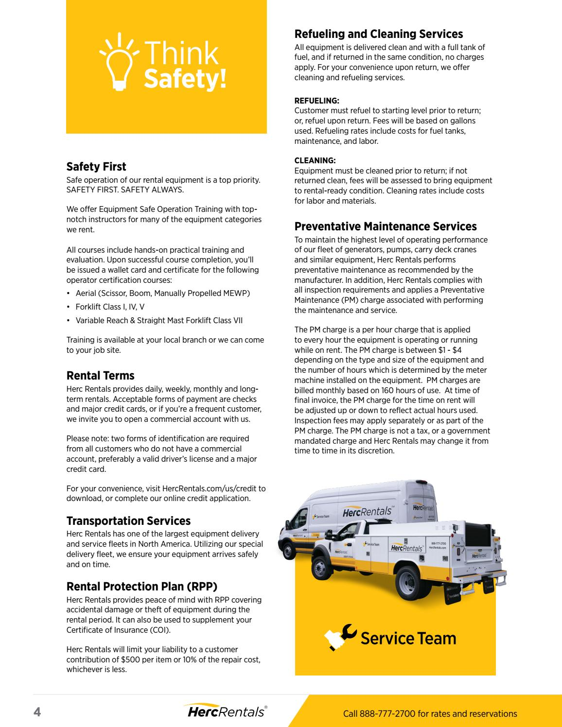 Herc Rentals Solutions Guide By Herc Rentals Issuu