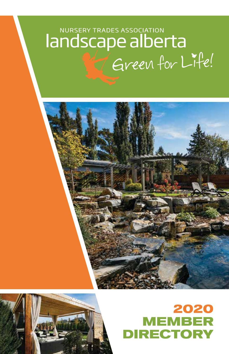 2020 Landscape Alberta Membership Directory By Landscape Alberta Issuu