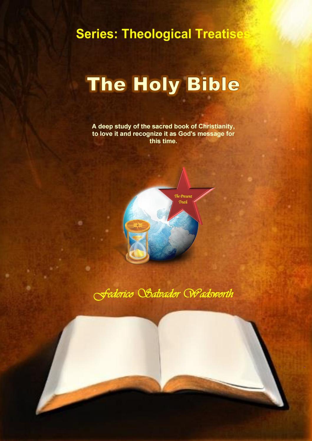 01 The Holy Bible 20 01 27 By Federicopedroalejandrosalvadorwadsworth Issuu