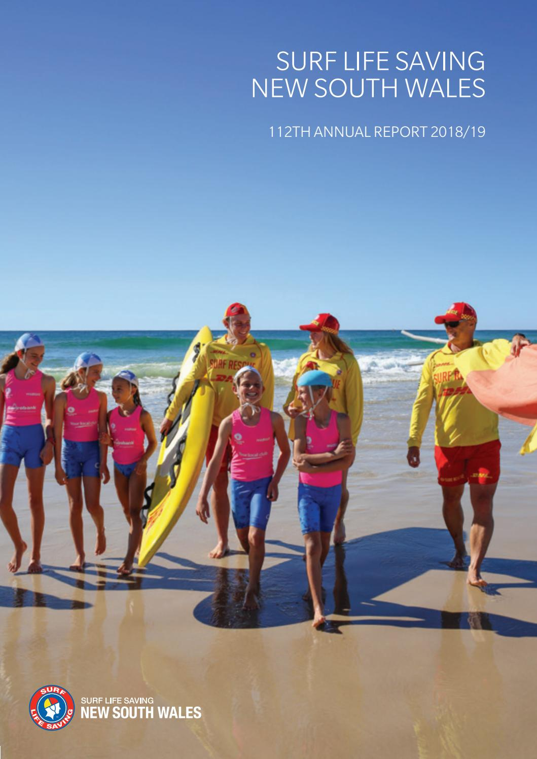 Slsnsw 2018 19 Annual Report By Surf Life Saving Nsw Issuu
