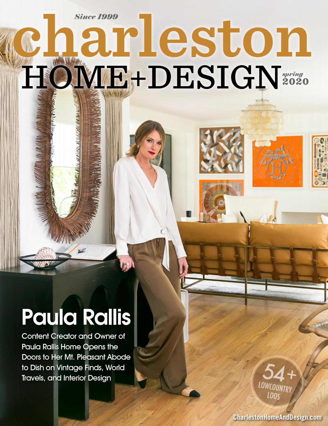 Paula Rallis By Charleston Home Design Magazine Issuu