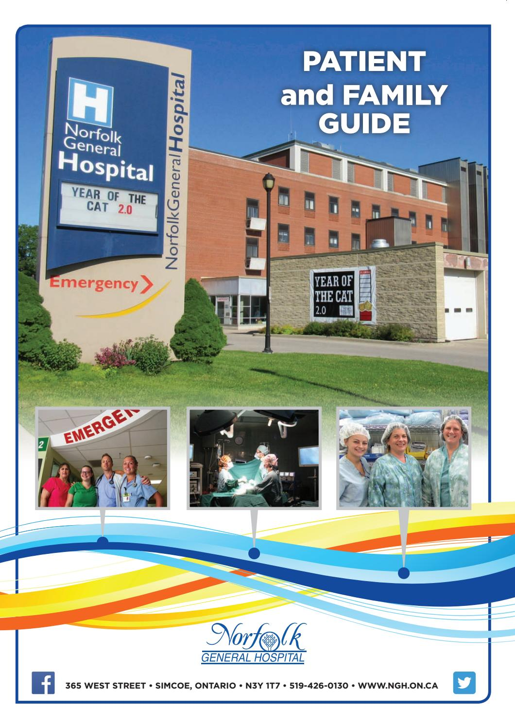 Endoscopy Room Floor Plan: Norfolk General Hospital Patient And Family Guide By