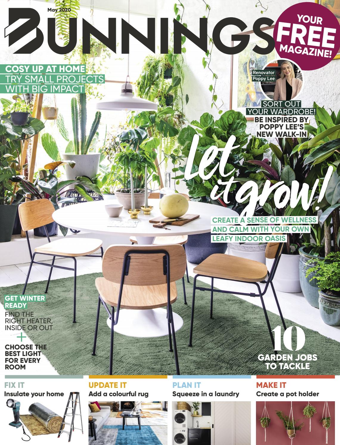 Picture of: Bunnings Magazine May 2020 By Bunnings Issuu