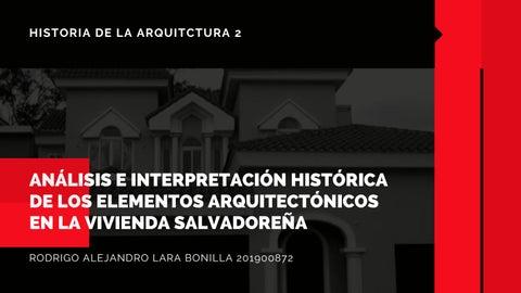 "Cover of ""Rodrigo Alejandro Lara Bonilla. Análisis e interpretación histórica"""