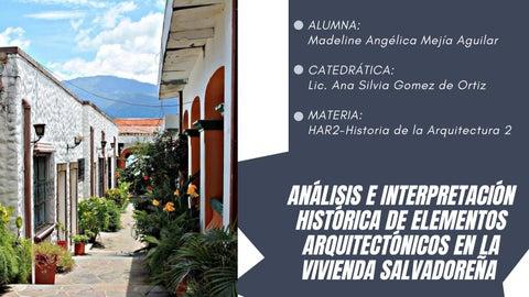 """Cover of """"Madeline Angélica Mejía Aguilar. Análisis e interpretación histórica"""""""