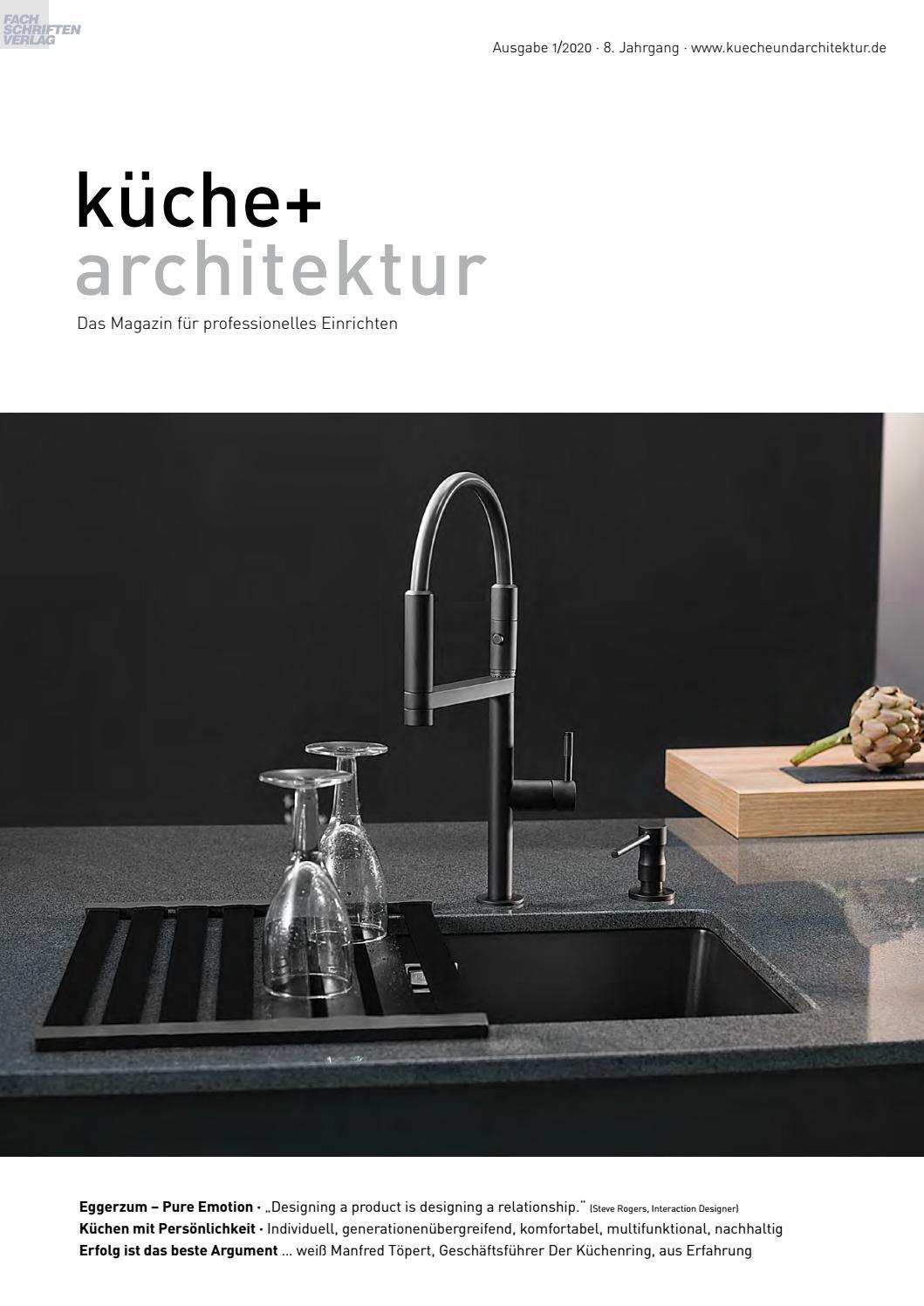 Kuche Architektur 1 2020 By Fachschriften Verlag Issuu