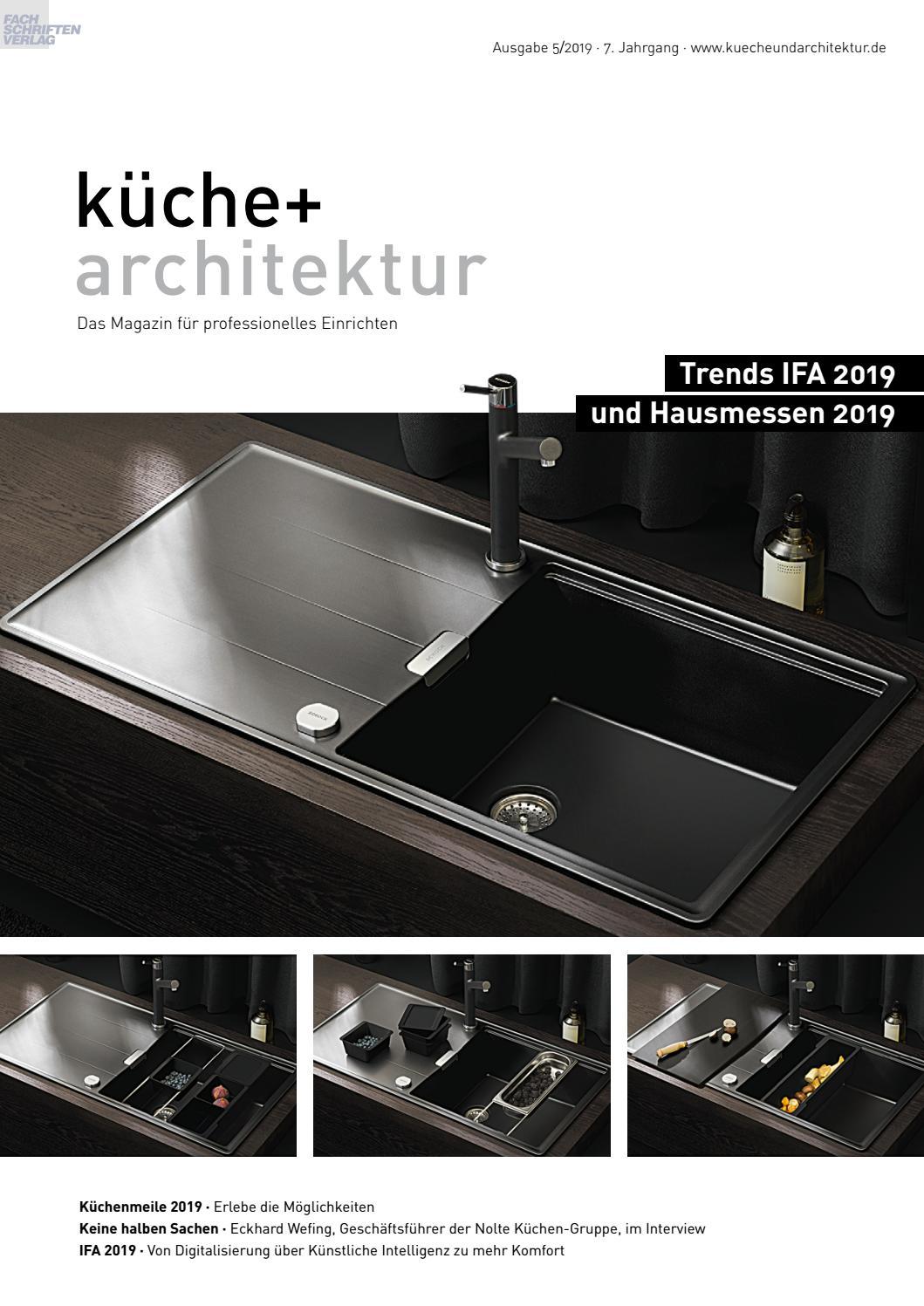 Kuche Architektur 5 2019 By Fachschriften Verlag Issuu