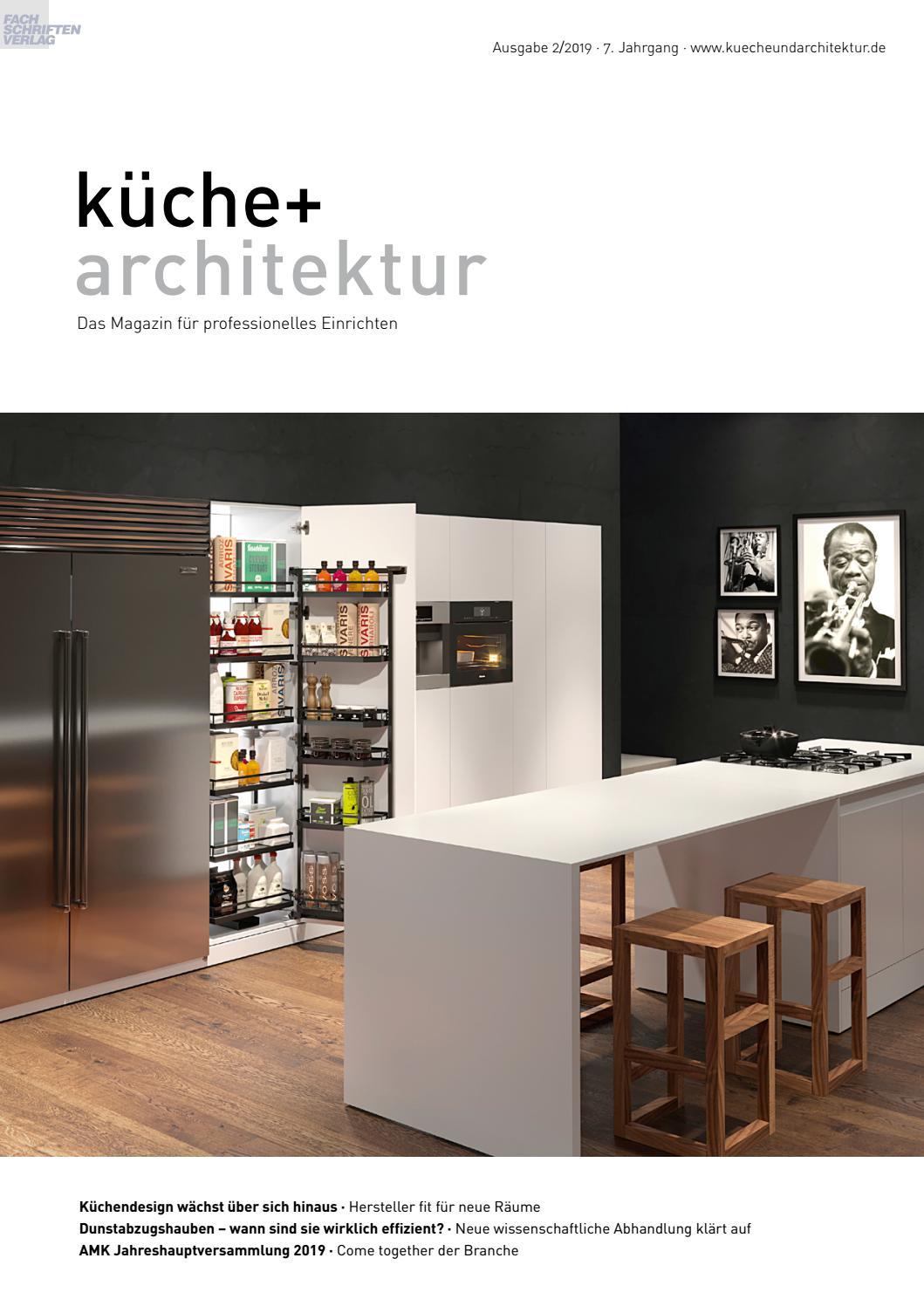 Kuche Architektur 2 2019 By Fachschriften Verlag Issuu