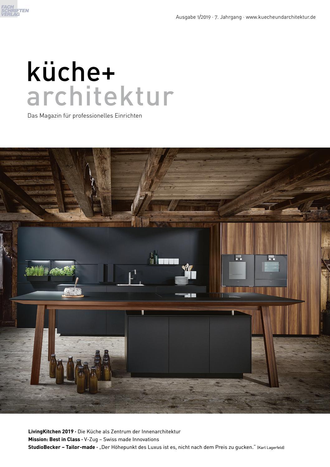 Kuche Architektur 1 2019 By Fachschriften Verlag Issuu