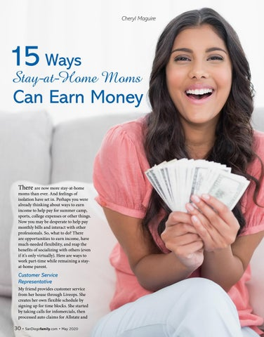 Page 30 of 15 Ways Stay-at-Home Moms Can Earn Money