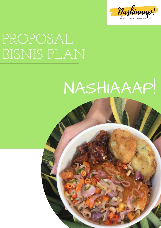 Proposal Bisnis Plan Nashiaaap By Nurkholisah Issuu
