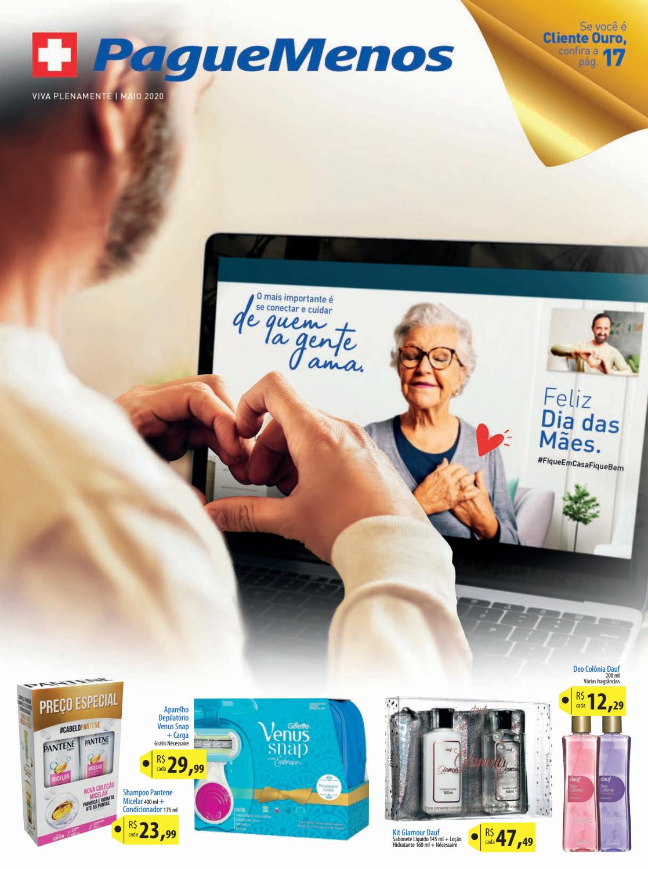 folheto de ofertas farmacia pague menos
