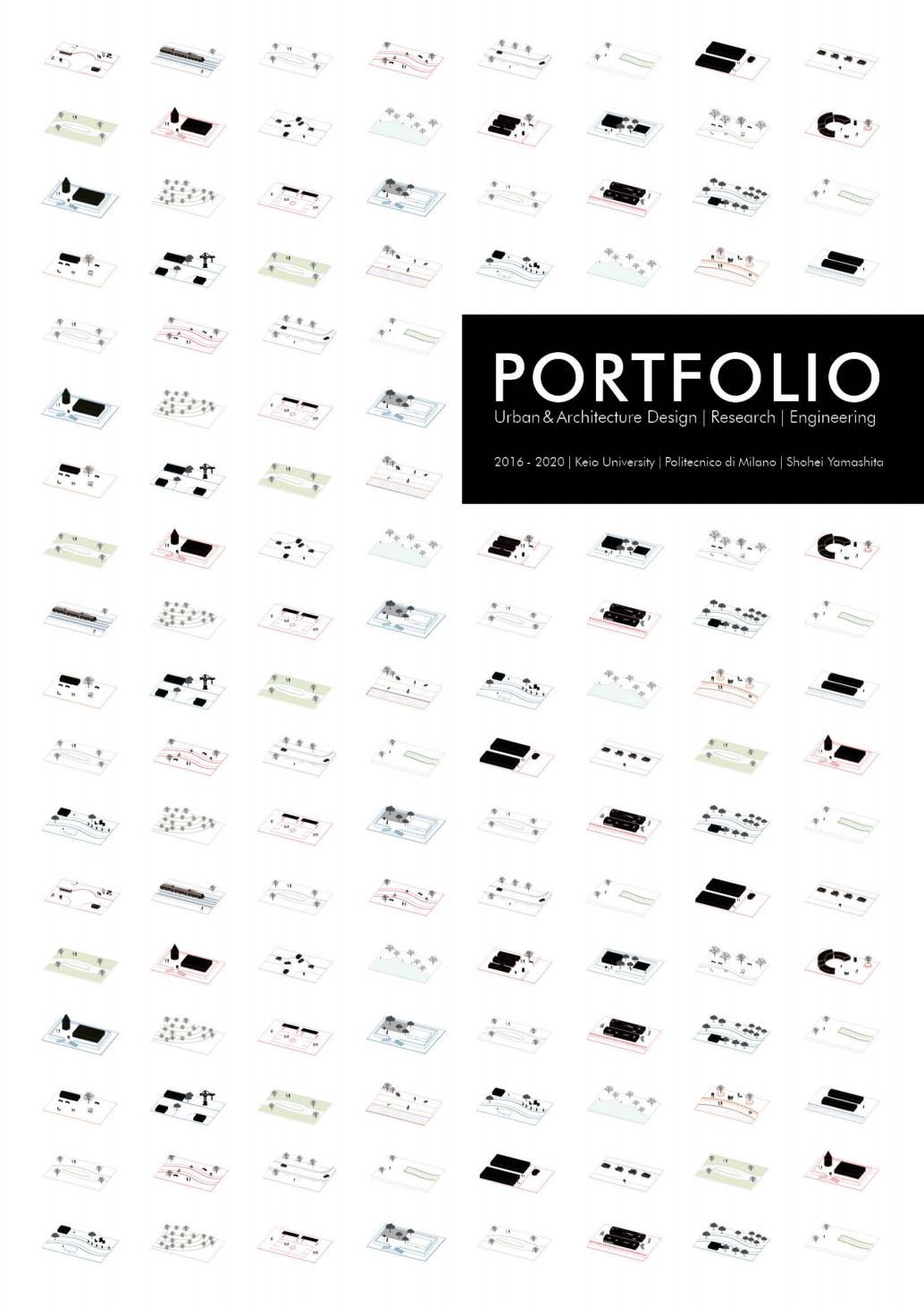 Architecture Portfolio Shohei Yamashita 2016 2020 Politecnico Di Milano Keio Univ By Yamaxile Issuu