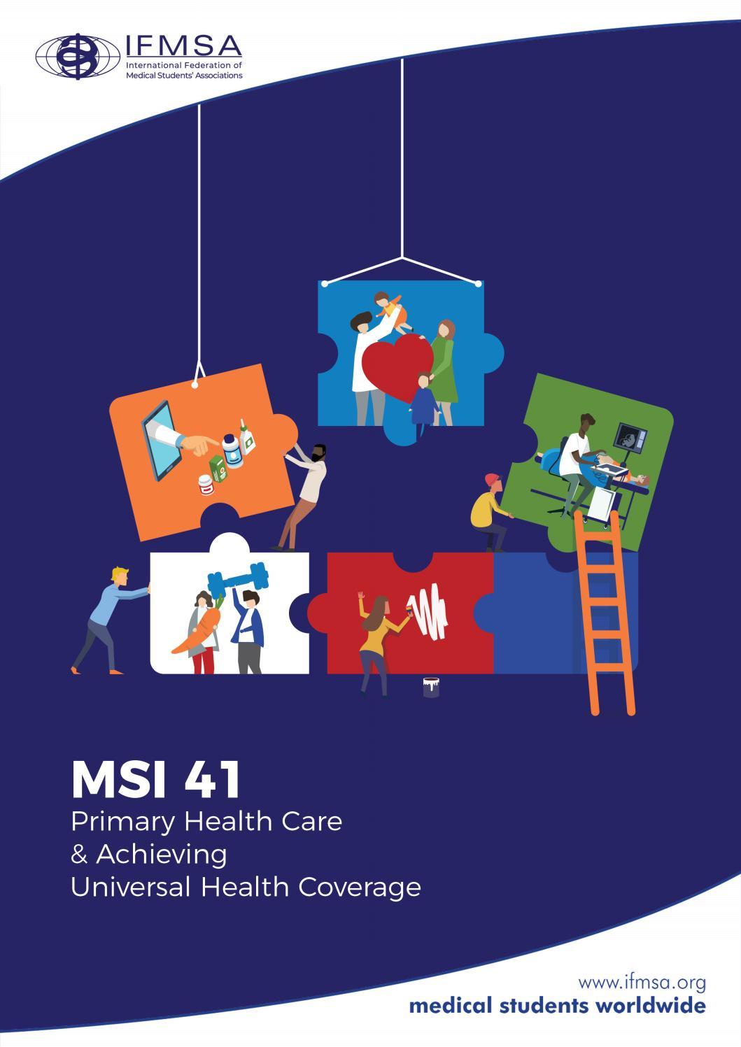 Medical Students International Msi 41 By International Federation Of Medical Students Associations Issuu