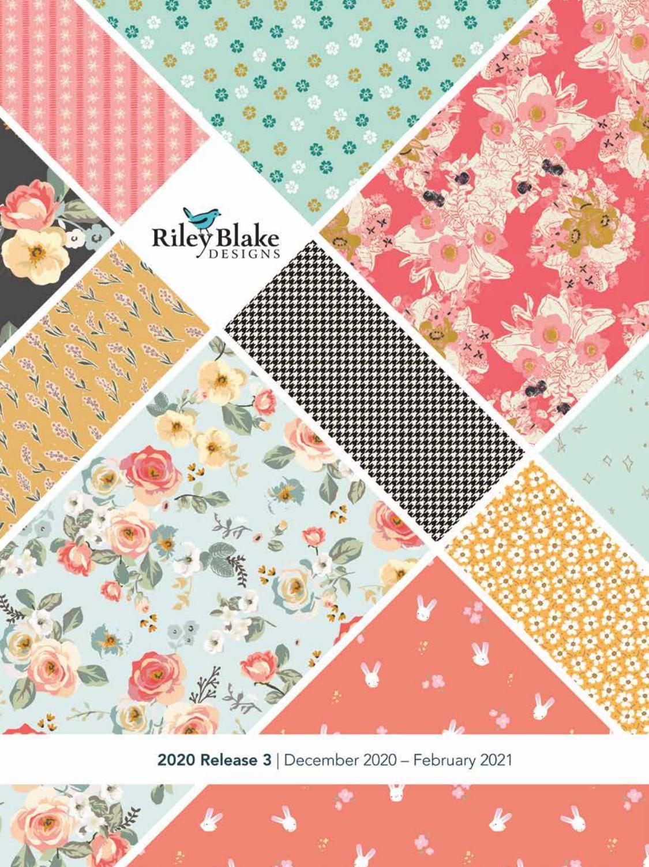 Wave Teal Mid Mod Cotton Fabric  Fat Quarter Riley Blake