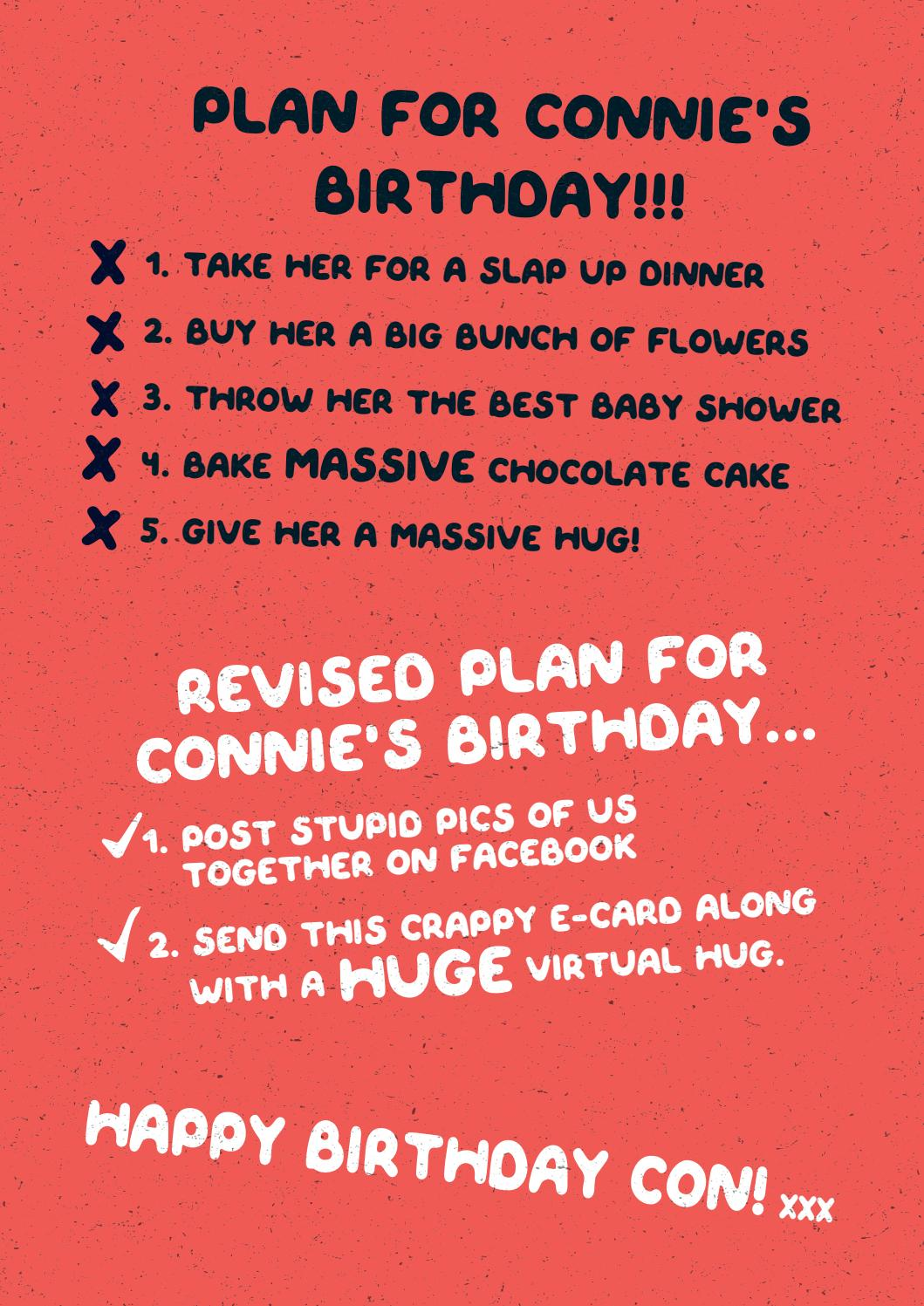 Happy Birthday Connie By Gordon Ramsgate Issuu