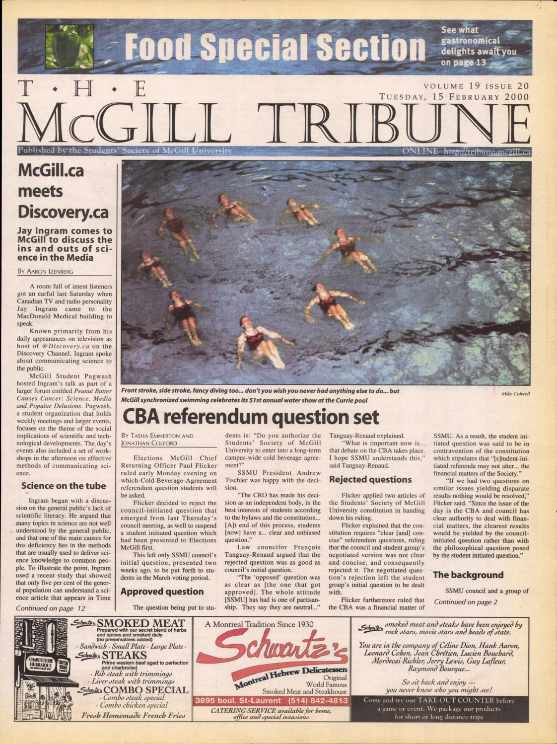 The Mcgill Tribune Vol 19 Issue 20 By The Mcgill Tribune Issuu