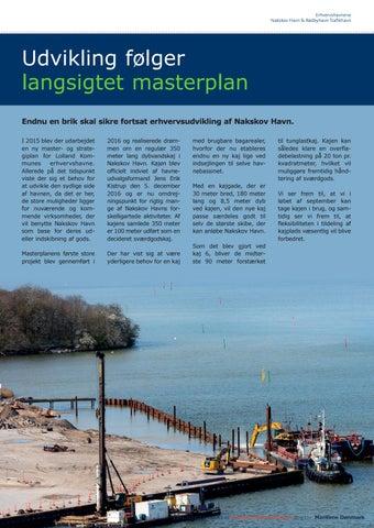 Page 13 of UDVIKLING FØLGER LANGSIGTET MASTERPLAN