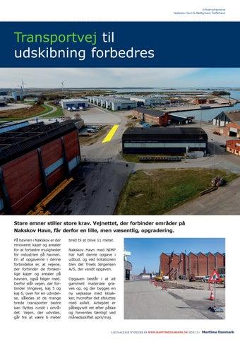Page 15 of TRANSPORTVEJ TIL UDSKIBNING FORBEDRES