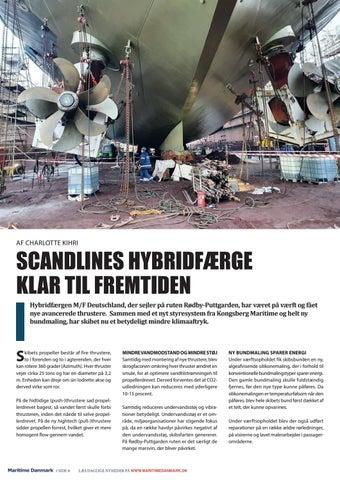 Page 6 of SCANDLINES HYBRIDFÆRGE KLAR TIL FREMTIDEN