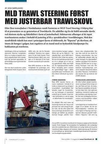Page 6 of MLD TRAWL STEERING FØRST MED JUSTERBAR TRAWLSKOVL