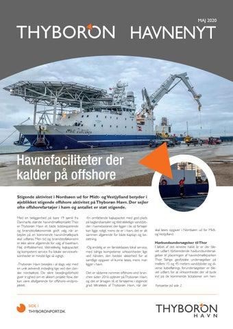Page 9 of HAVNEFACILITETER DER KALDER PÅ OFFSHORE