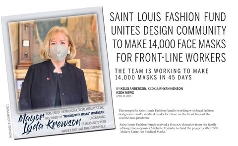 Page 18 of Saint Louis Fashion Fund Unites Design Community to Make 14,000 Face Masks for Front-Line Workers