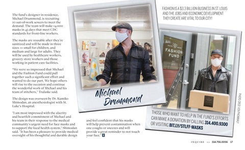 Page 19 of Saint Louis Fashion Fund Unites Design Community to Make 14,000 Face Masks for Front-Line Workers