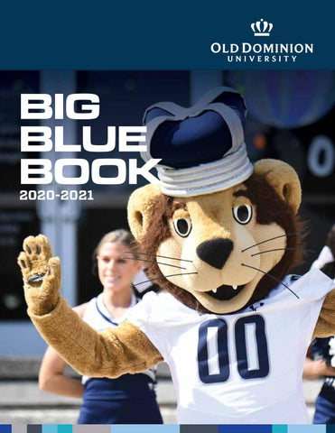 2020 Big Blue Book by Old Dominion University   issuu