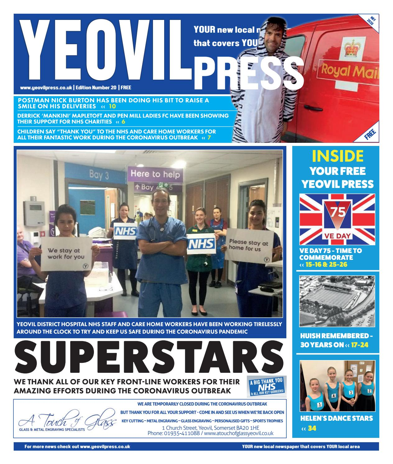 Yeovil Press Issue 20 May 2020 By Jrh Media Issuu