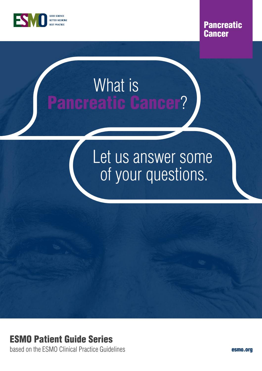 Pancreatic cancer age statistics. Pancreatic cancer esmo - Pancreatic cancer
