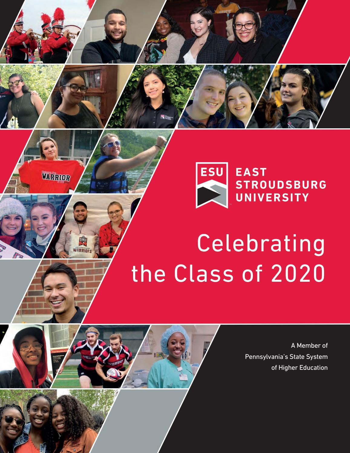 Celebrating The Class Of 2020 By East Stroudsburg University Of Pennsylvania Issuu I graduated from uc berkeley in may 2019 and am currently pursuing my graduate's degree at the university of pennsylvania. 2020 by east stroudsburg university