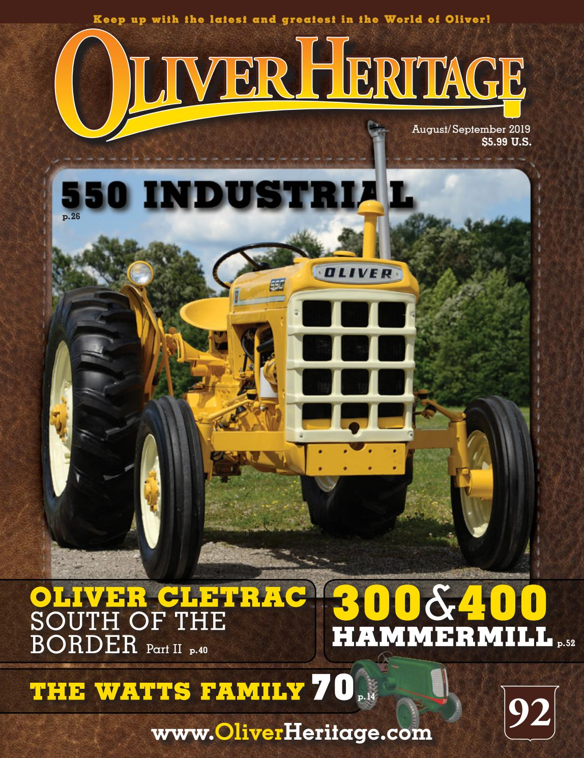 """12 x 16/"""" Oliver Model 660 Featured Large Size Oliver Tractors New Metal Sign"""