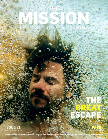 "Cover of ""The Mission Fly Fishing Magazine # Issue 21"""