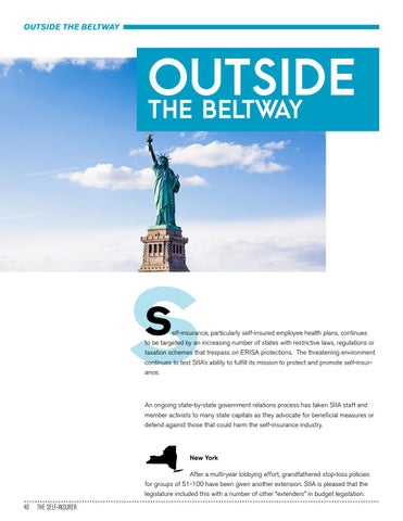Page 40 of OUTSIDE THE BELTWAY