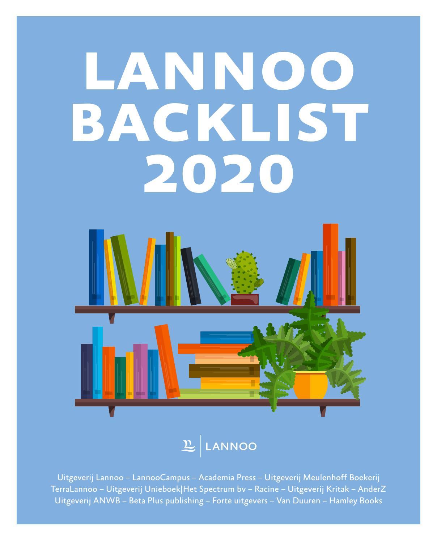 Wonderbaarlijk Backlist 2020 by Uitgeverij Lannoo - issuu ER-23