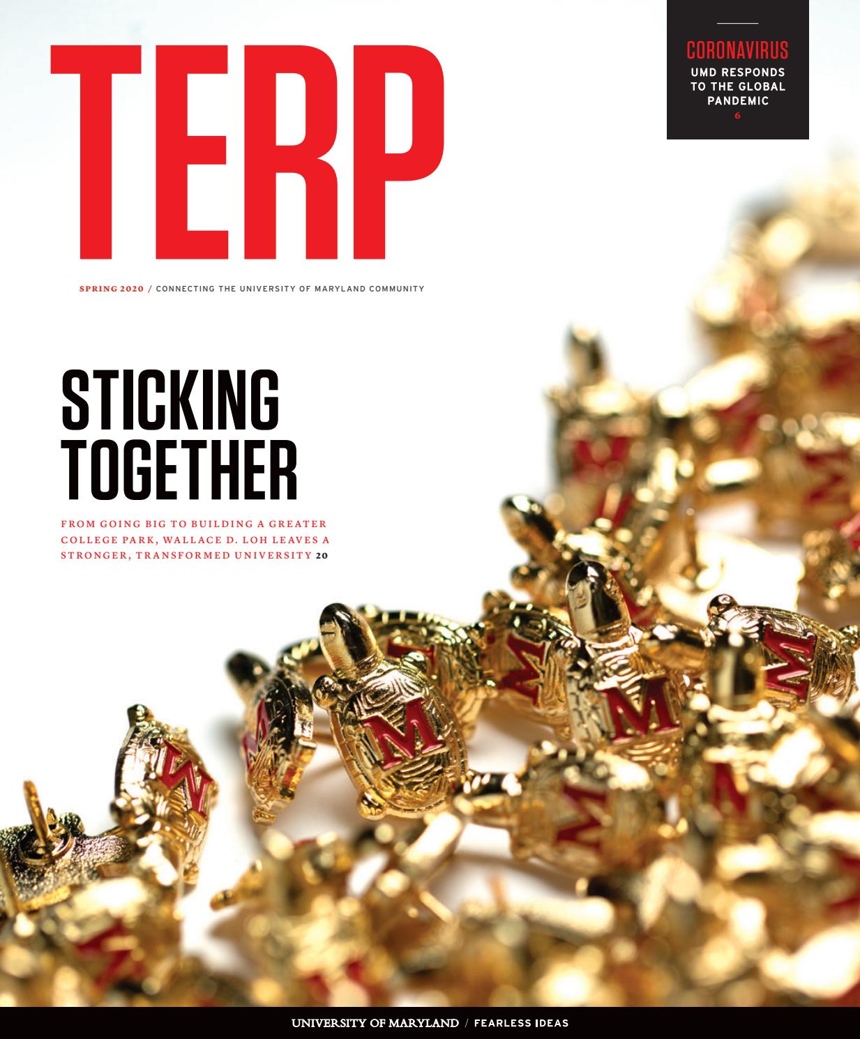Terp Spring 2020 By University Of Maryland Issuu