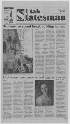 The Utah Statesman March 10 2000 By Usu Digital Commons Issuu